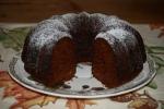 Sticky Gingerbread Bundt Cake