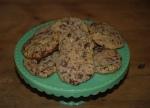 Dark Chocolate and Pistachio Cookies